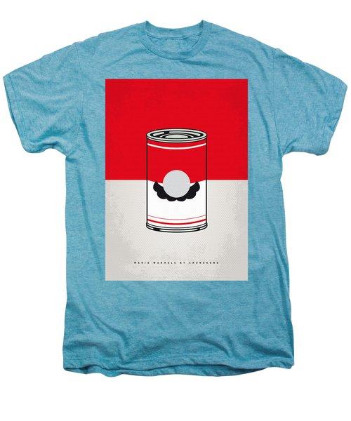 My Mario Warhols Minimal Can Poster-mario Men's Premium T-Shirt