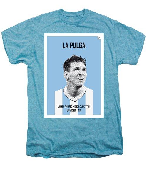 My Messi Soccer Legend Poster Men's Premium T-Shirt by Chungkong Art
