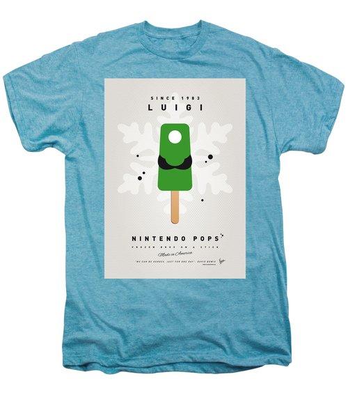 My Nintendo Ice Pop - Luigi Men's Premium T-Shirt