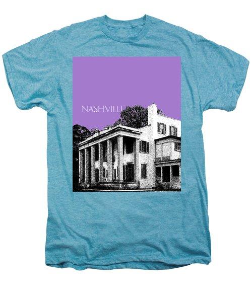 Nashville Skyline Belle Meade Plantation - Violet Men's Premium T-Shirt