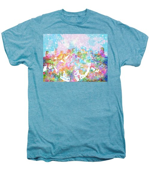 Nashville Skyline Watercolor 8 Men's Premium T-Shirt