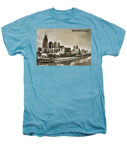 Nashville Tennessee Men's Premium T-Shirt by Dan Sproul