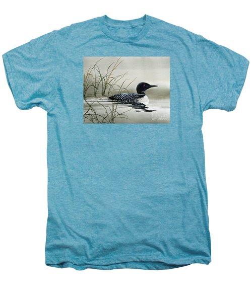 Nature's Serenity Men's Premium T-Shirt by James Williamson
