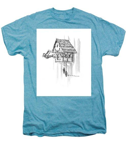 New Yorker February 10th, 1997 Men's Premium T-Shirt by Bill Woodman