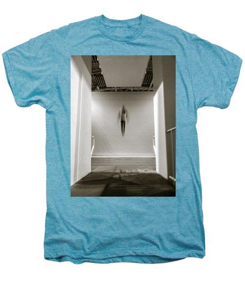 Men's Premium T-Shirt featuring the photograph Newton's First Law by Alex Lapidus