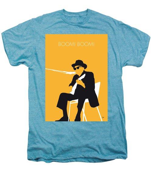 No054 My Johnny Lee Hooker Minimal Music Poster Men's Premium T-Shirt by Chungkong Art