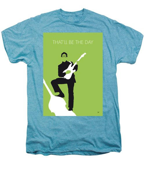 No056 My Buddy Holly Minimal Music Poster Men's Premium T-Shirt by Chungkong Art
