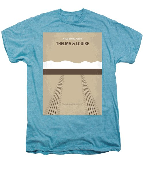 No189 My Thelma And Louise Minimal Movie Poster Men's Premium T-Shirt by Chungkong Art