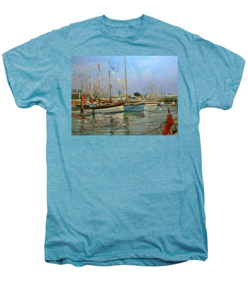 Old Gaffers  Yarmouth  Isle Of Wight Men's Premium T-Shirt
