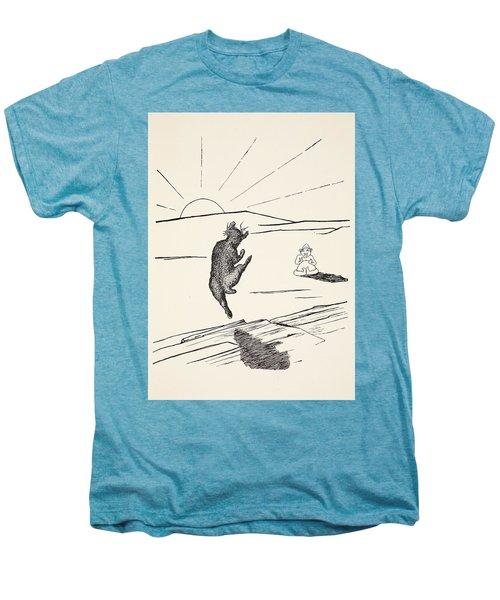 Old Man Kangaroo Men's Premium T-Shirt by Rudyard Kipling