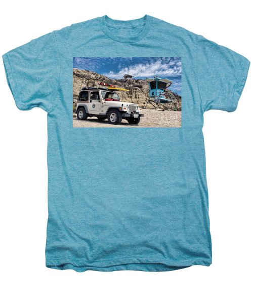 On Duty Men's Premium T-Shirt by Peggy Hughes
