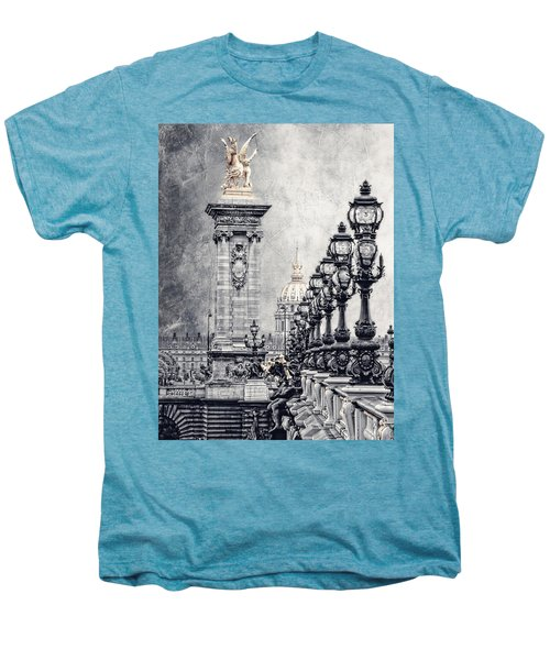 Paris Pompous 2 Men's Premium T-Shirt by Joachim G Pinkawa