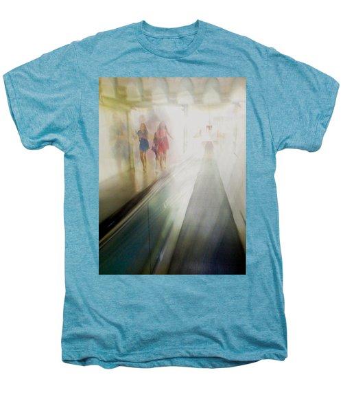 Men's Premium T-Shirt featuring the photograph Party Girls by Alex Lapidus