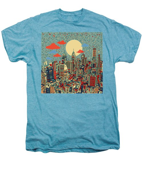 Philadelphia Dream 2 Men's Premium T-Shirt by Bekim Art