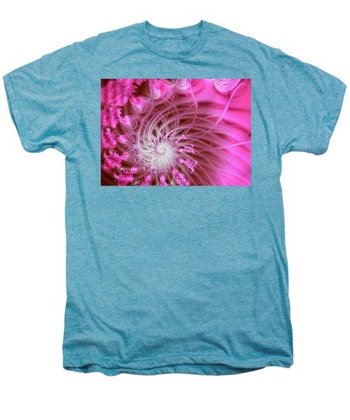 Pink Men's Premium T-Shirt by Lena Auxier