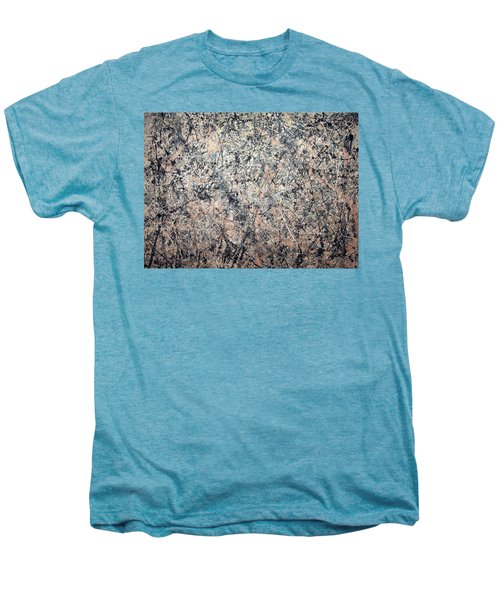 Pollock's Number 1 -- 1950 -- Lavender Mist Men's Premium T-Shirt