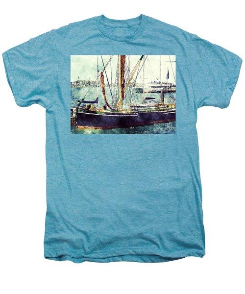 Portsmouth Harbour Boats Men's Premium T-Shirt