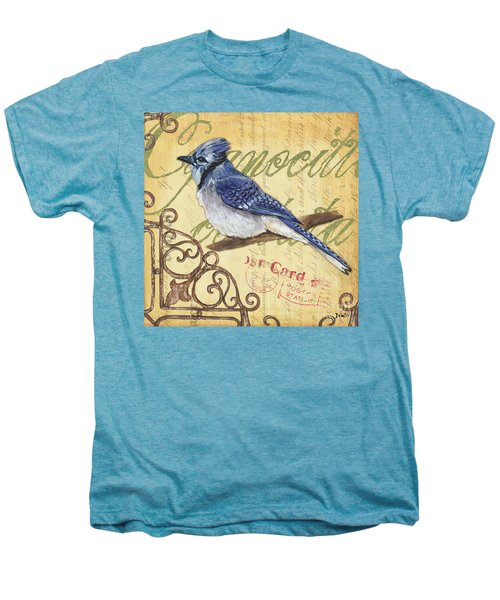 Pretty Bird 4 Men's Premium T-Shirt by Debbie DeWitt