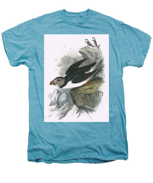 Puffin Men's Premium T-Shirt by English School