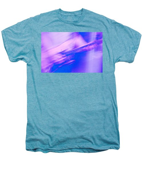 Men's Premium T-Shirt featuring the photograph Purple Haze by Alex Lapidus