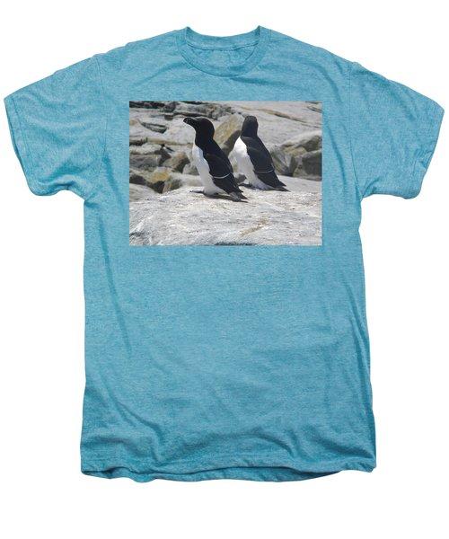 Razorbills 2 Men's Premium T-Shirt by James Petersen