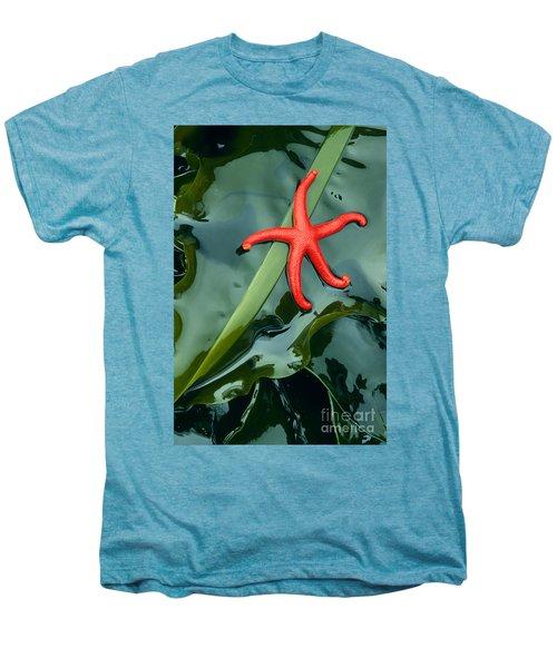 Red Bloodstar Men's Premium T-Shirt