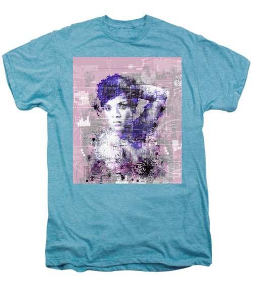 Rihanna 3 Men's Premium T-Shirt by Bekim Art