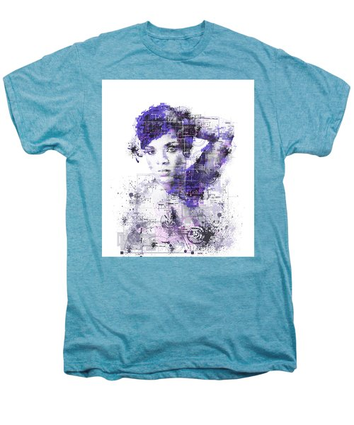 Rihanna Men's Premium T-Shirt by Bekim Art