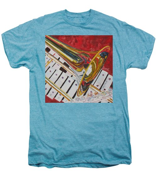 Ringing In The Brass Men's Premium T-Shirt by Jenny Armitage