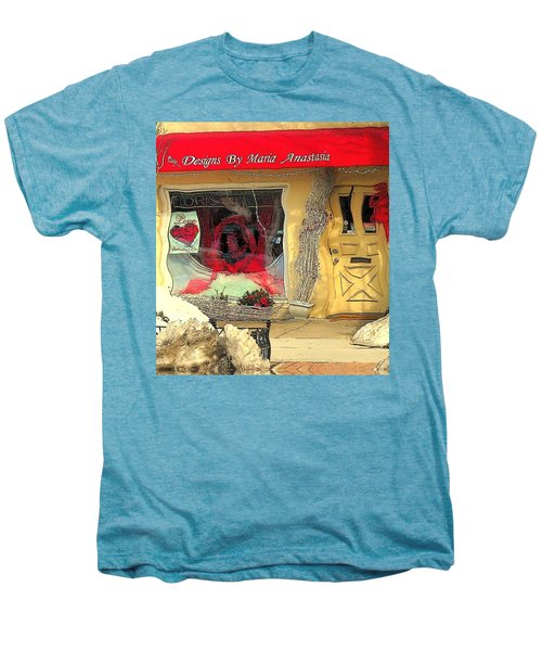 Rouge On The Rue Men's Premium T-Shirt by Tami Quigley