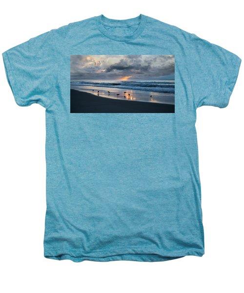 Sandpipers In Paradise Men's Premium T-Shirt