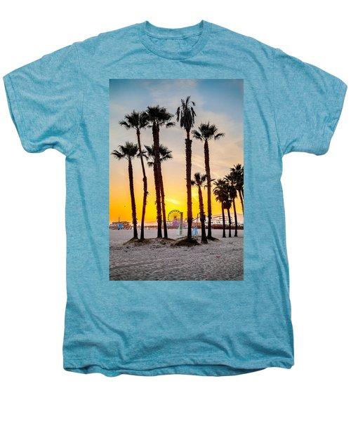 Santa Monica Palms Men's Premium T-Shirt