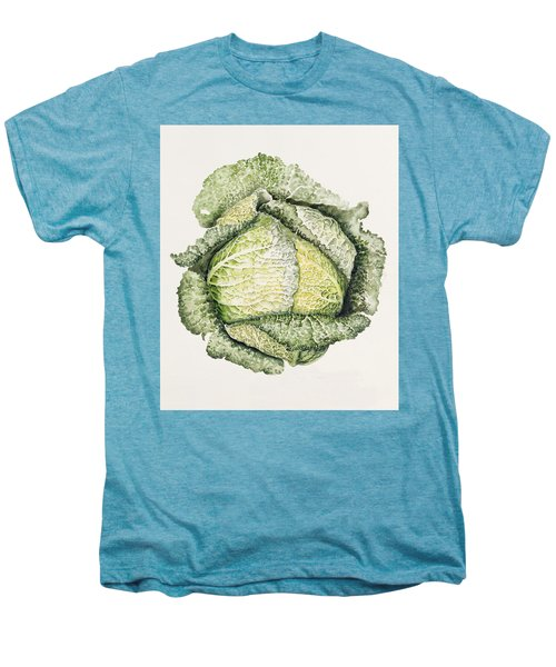 Savoy Cabbage  Men's Premium T-Shirt by Alison Cooper