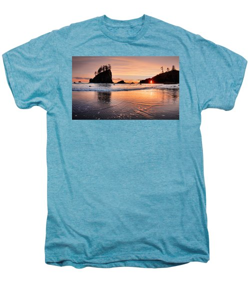 Second Beach Sunset Men's Premium T-Shirt
