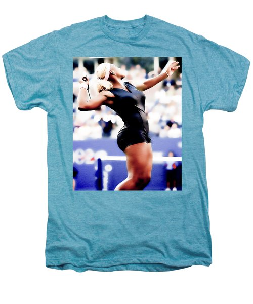 Serena Williams Catsuit Men's Premium T-Shirt by Brian Reaves