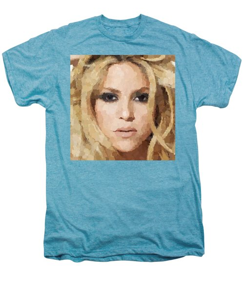 Shakira Portrait Men's Premium T-Shirt
