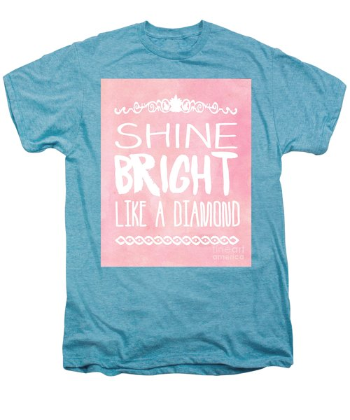 Shine Bright Men's Premium T-Shirt by Pati Photography