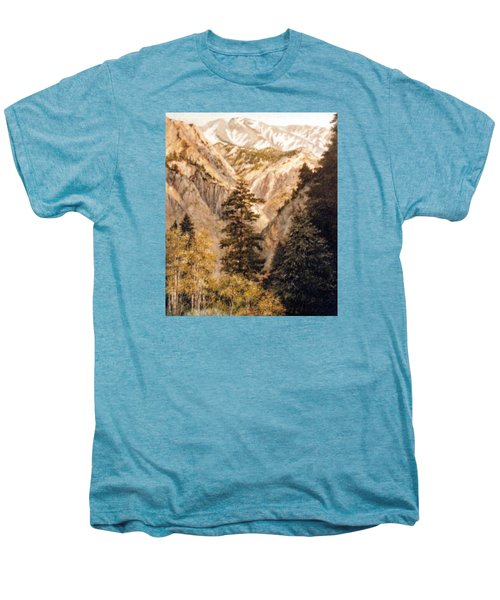 Shirley Temple Mine Men's Premium T-Shirt by Donna Tucker