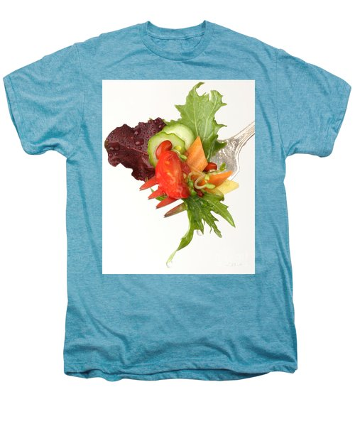 Silver Salad Fork Men's Premium T-Shirt