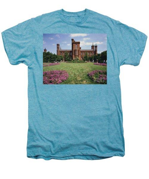 Smithsonian Institution Building Men's Premium T-Shirt