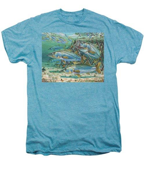 Snook Attack In0014 Men's Premium T-Shirt