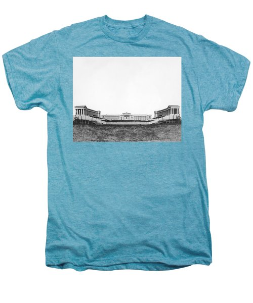 Soldiers' Field And Museum Men's Premium T-Shirt by Underwood Archives