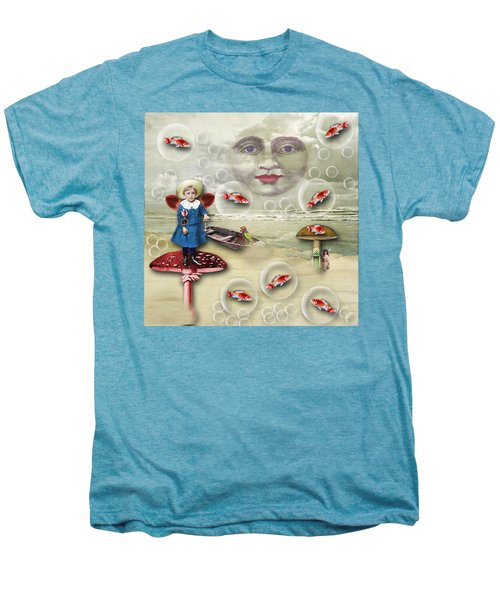 Something Fishy At The Shore Men's Premium T-Shirt