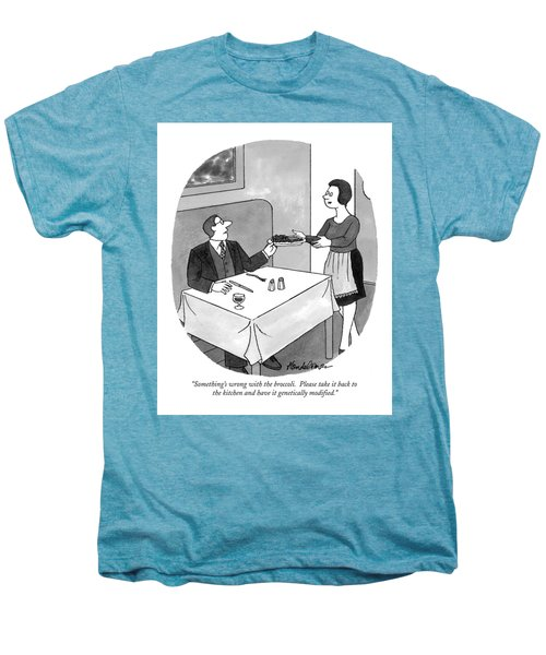Something's Wrong With The Broccoli.  Please Take Men's Premium T-Shirt