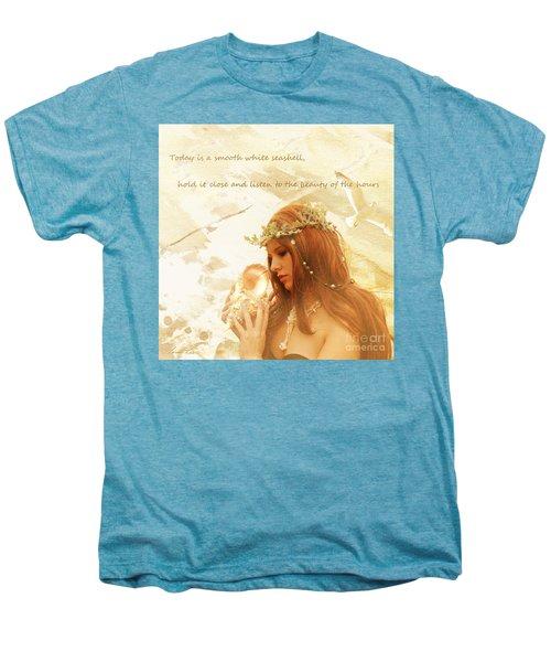 Sounds Of The Sea Men's Premium T-Shirt by Linda Lees