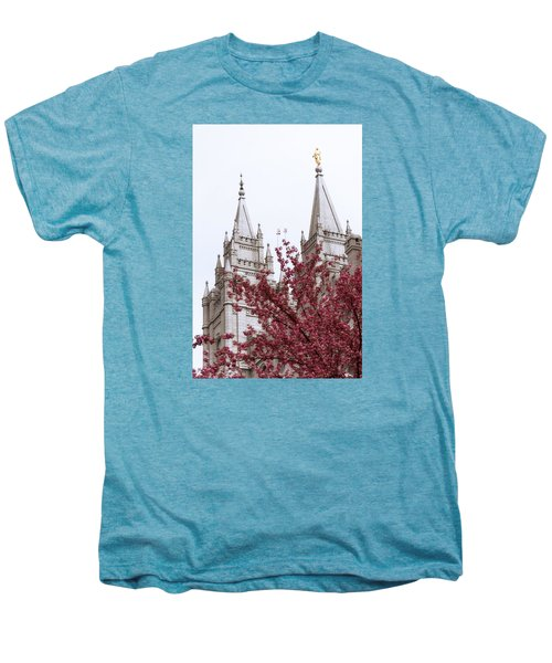 Spring At The Temple Men's Premium T-Shirt