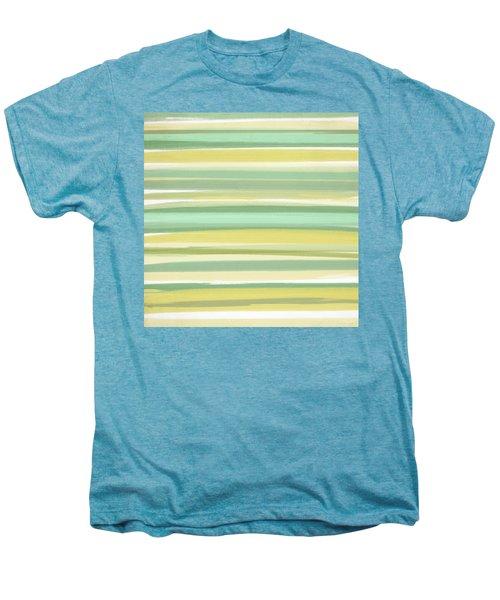 Spring Green Men's Premium T-Shirt by Lourry Legarde