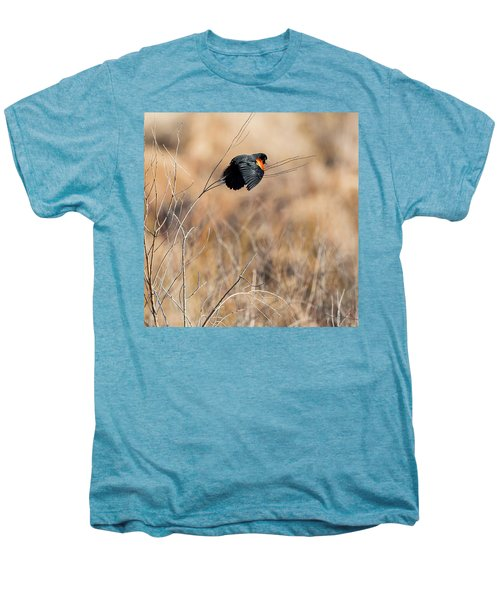 Springtime Song Square Men's Premium T-Shirt by Bill Wakeley
