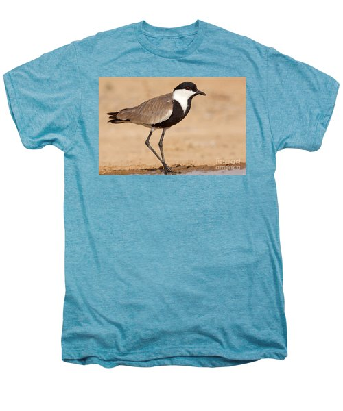 Spur-winged Lapwing Vanellus Spinosus Men's Premium T-Shirt