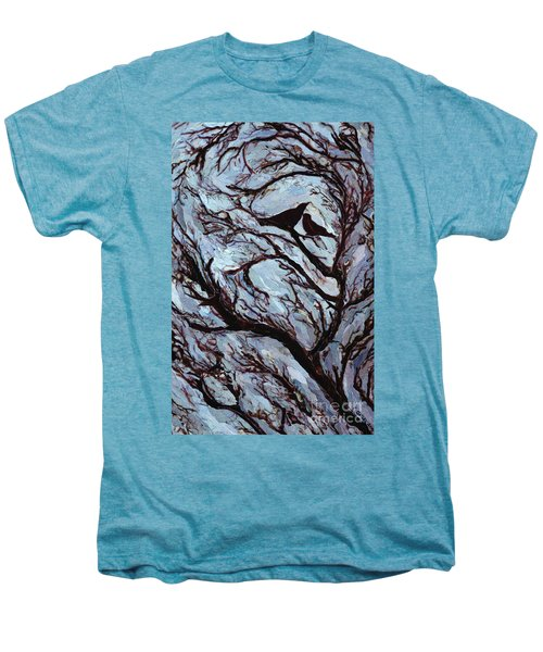 Stormy Day Greenwich Park Men's Premium T-Shirt by Ellen Golla